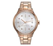 ESPRIT Esprit Armbanduhr, »ES-rachel rose gold, ES108562003« bunt