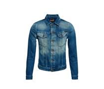 Nudie Jeans Co Jeansjacke 'Perry' blau