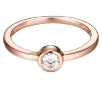 ESPRIT Ring, »tiny rose, ESRG92424B«, Esprit silber