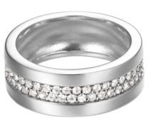 ESPRIT Ring, Esprit, »pure pave, ESRG92214A« anthrazit