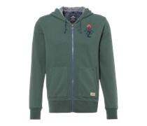 New Zealand Auckland Sweatjacke khaki/grün