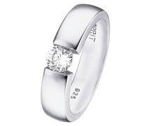 ESPRIT Ring, »solitaire«, Esprit weiß