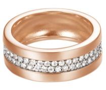 ESPRIT Ring, Esprit, »pure pave rose, ESRG92214C« silber