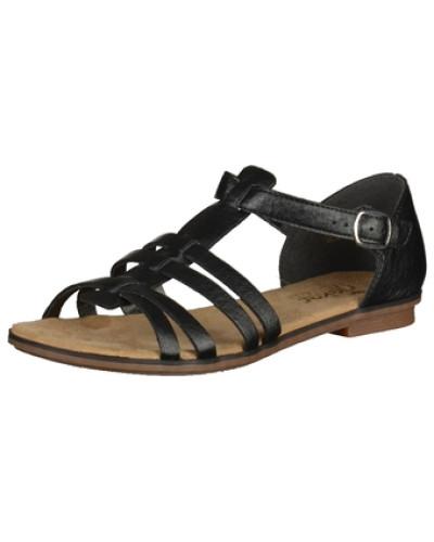rieker damen rieker sandalen schwarz reduziert. Black Bedroom Furniture Sets. Home Design Ideas