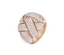 ESPRIT Ring, »lilaia rose, ELRG92291B«, Esprit Collection silber