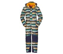 JACK WOLFSKIN Jack Wolfskin Schneeanzug »KIDS MAGIC MOUNTAIN SNOWSUIT« bunt