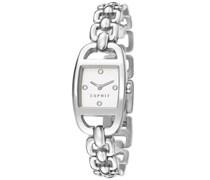 ESPRIT Armbanduhr, »faye silver, ES107182001«, Esprit anthrazit