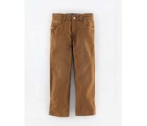 Hellbraun Canvas Vintage-Jeans