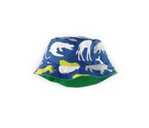 Blau Gemusterter Hut