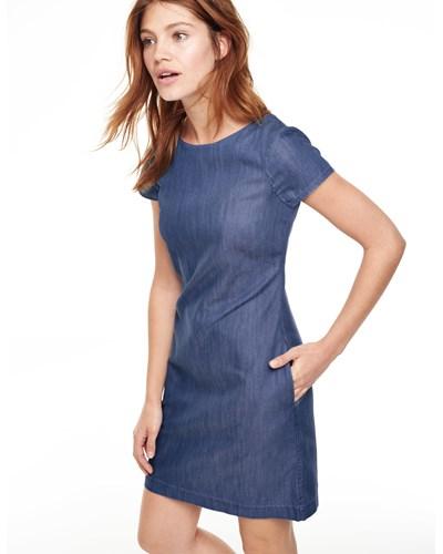 Boden damen denim schmales harriet tunikakleid reduziert for Bodendirect gutschein