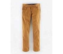 Braun Schmale Jeans