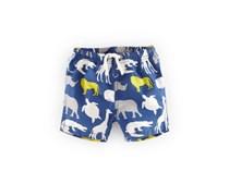 Blau Tierabenteuer Schwimmshorts für Jungs