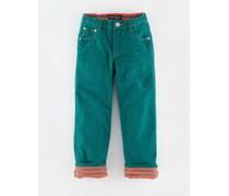 Ozean Gefütterte Jeans
