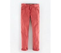Rot Schmale Jeans