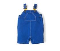 Blau Sommerliche 7/8-Latzhose