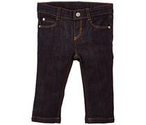 Petit Bateau Baby (Jungen 0-24 Monate) Jeans Live, Gr. 86 (Herstellergröße: 18 mois), Blau (Jean)