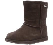 Emu Brumby Lo, Mädchen Halbschaft Stiefel, Braun (Chocolate), 31 EU (12 Kinder UK)