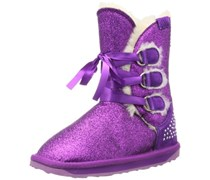 Emu Glitzy K10725, Unisex-Kinder Schneestiefel, Violett (Purple), EU 36 (UK 3) (US 4)