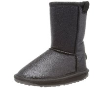 Emu Sparkle Lo, Mädchen Langschaft Stiefel, Schwarz (Black), 32 EU (13 Kinder UK)