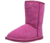 Emu Wallaby Lo, Mädchen Halbschaft Stiefel, Pink (Hot Pink), 24 EU (7 Kinder UK)