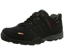 VAUDE Men's Grounder Ceplex Low II, Herren Sneakers Schnürhalbschuhe, Schwarz (black), 45 EU (10.5 Herren UK)