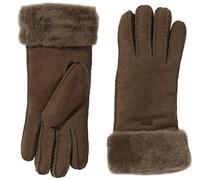 Emu Damen Handschuhe Apollo Bay Gloves, Einfarbig, Gr. Small (Herstellergröße: XS/S), Braun (Chocolate)
