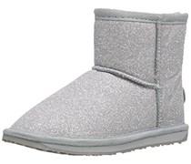 Emu Sparkle Mini, Unisex-Kinder Stiefel, Silber (Silver) , 32 EU