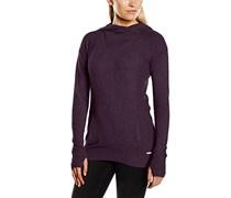 Bench Damen Kapuzenpullover Violett Purple Marl 42