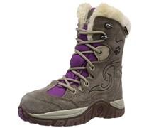 Jack Wolfskin GIRLS LAKE TAHOE TEXAPORE, Mädchen Warm gefütterte Schneestiefel, Mehrfarbig (mallow purple 1117), 39 EU (5.5 Kinder UK)