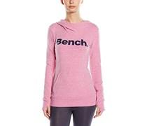 Bench Damen, Kapuzenpullover, Essential, GR. 40 (Herstellergröße:Large), Rosa (violet Marl)