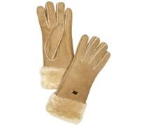 Emu Accessoires Damen Handschuh Apollo Bay Glove, Gr. 7.5 (M/L), Beige (chestnut)