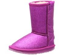 Emu Sparkle Lo, Mädchen Langschaft Stiefel, Pink (Hot Pink), 25.5 EU (8 Kinder UK)