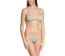 Palmers Damen Bikini-Set Triangel Dream, mit Print, Gr. 44, 85B (Herstellergröße: B/L (Cup B/Größe L)), Mehrfarbig (Bunt 199)