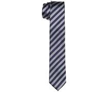 s.Oliver Premium Herren Krawatte aus reiner Seide, Gr. One size, Mehrfarbig (smoky melange 9728)