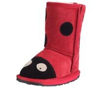 Emu LC Ladybird, Mädchen Halbschaft Stiefel, Rot (Red), 31 EU (12 Kinder UK)