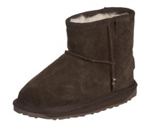 Emu Wallaby Mini K10103, Unisex-Kinder Schneestiefel, Braun (Chocolate), EU 28 (UK 10) (US 11)