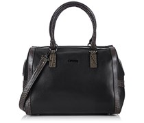 CINQUE Luiselle Bowling Bag 11720 9047 C15 Damen Bowlingtaschen 32x24x17 cm (B x H x T), Schwarz (schwarz 9047)