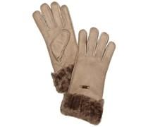 Emu Accessoires Damen Handschuh Apollo Bay Glove, Gr. 7.5 (M/L), Beige (mushroom)
