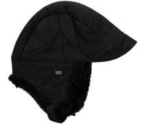 Emu Accessoires Damen Mütze Lammfell, Super Tubes Hat, W9425, Gr. one size, Schwarz (black)