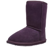Emu Wallaby Lo, Mädchen Halbschaft Stiefel, Violett (Purple), 25.5 EU (8 Kinder UK)