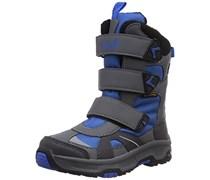 Jack Wolfskin BOYS SNOW DIVER TEXAPORE, Jungen Ungefütterte Schneestiefel, Blau (classic blue 1127), 35 EU (2.5 Kinder UK)