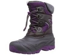 Jack Wolfskin GIRLS SNOW FAIRY TEXAPORE, Mädchen Ungefütterte Schneestiefel, Mehrfarbig (mallow purple 1117), 35 EU (2.5 Kinder UK)