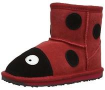 EMU Australia Lc Ladybird Mini, Jungen Stiefel  Rot Rot 36