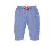 Petit Bateau Baby - Jungen Hose Pantalon 35548, Gestreift, Gr. 68 (Herstellergröße: 6M/67Cm), Mehrfarbig (Surf/Ecume)