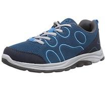 Jack Wolfskin FAIRPORT LOW K, Unisex-Kinder Sneakers, Blau (moroccan blue 1800), 26 EU (8 Kinder UK)