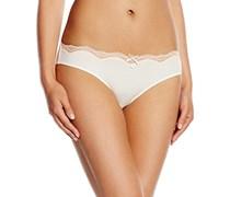Palmers Damen Slip 100530208000, Gr. 36 (Herstellergröße: S), Weiß (Ecrue-Apricot 261)