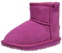 Emu Wallaby Mini, Mädchen Kurzschaft Stiefel, Pink (Hot Pink), 27 EU (9 Kinder UK)