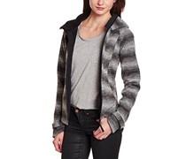 Bench Damen Pullover Canabroom, Gr. 38 (Herstellergröße: M), Grau (Black)