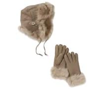Emu Damen Set W03067/Hazeldene Gift Set, Gr. one size (XS/S), Grau (Birch)