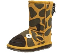 Emu LC Giraffe, Mädchen Halbschaft Stiefel, Gold (Gold), 29/30 EU (11 Kinder UK)